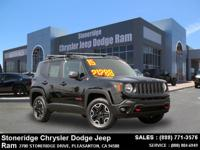 Options:  2015 Jeep Renegade Trailhawk Sport