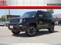New Price! 2015 Jeep Renegade Trailhawk LiftedClean