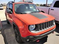 Options:  2015 Jeep Renegade Trailhawk|Step Into The