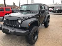New Price! This 2015 Jeep Wrangler Rubicon in Black