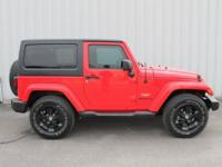 2015 Jeep Wrangler Firecracker Red Clear Coat Sahara