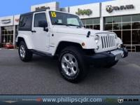 New Price! Certified. 2015 Jeep Wrangler Sahara Bright