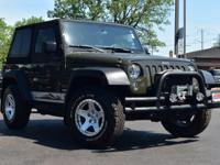 Clean CARFAX. Tank Clearcoat 2015 Jeep Wrangler Sport