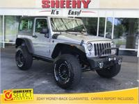 2015 Jeep Wrangler Sport Lift Kit Hard Top 4X4 CARFAX