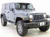 Anvil Clearcoat 2015 Jeep Wrangler Unlimited Rubicon