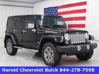 This 2015 Jeep Wrangler Unlimited Rubicon is luxury