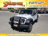 RUBICON. 6-Speed Manual CARFAX One-Owner. Clean