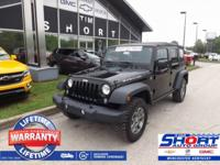 Black Clearcoat 2015 Jeep Wrangler Unlimited Rubicon
