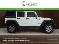 Delivers 20 Highway MPG and 16 City MPG! This Jeep
