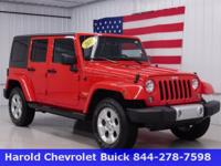 This 2015 Jeep Wrangler Sahara has fun written all over