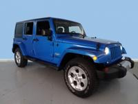 Come see this 2015 Jeep Wrangler Unlimited Sahara. Its
