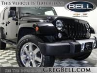Wrangler Unlimited Sahara, Black Clearcoat, Body Color