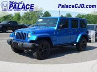 2015 Wrangler Unlimted Sahara **Manual