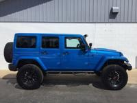 New Price! Blue 2015 Jeep Wrangler Unlimited Sahara 4WD