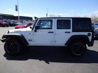 Recent Trade-in!!! 2015 Jeep Wrangler Bright White