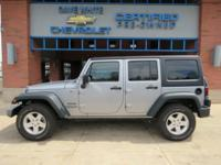 2015 Jeep Wrangler Anvil Clearcoat Unlimited Sport 4WD