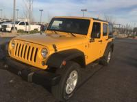 CARFAX One-Owner. Clean CARFAX. Yellow 2015 Jeep
