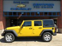 2015 Jeep Wrangler Baja Yellow Clearcoat Unlimited
