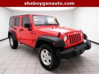 Firecracker Red Clear Coat 2015 Jeep Wrangler Unlimited