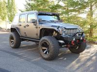This build begins with a Wrangler Unlimited and swaps