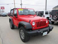 This tough-as-nails 2015 Jeep Wrangler Rubicon, with