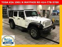 2015 Jeep Wrangler Unlimited Rubicon CARFAX(R) 1-owner,