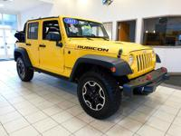 This is a 2015 Jeep Wrangler 4WD 4dr Rubicon Hard Rock