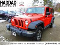 Jeep Wrangler Sunset Orange Pearlcoat Unlimited Rubicon
