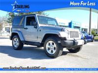 New Price! This 2015 Jeep Wrangler Sahara in Gray