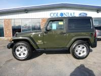 2015 Jeep Wrangler Sahara 4 Wheel Drive With