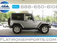 Flatirons Imports is offering this 2015 Jeep Wrangler