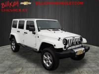 New Price! CARFAX One-Owner. White 2015 Jeep Wrangler