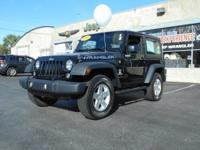 Step into the 2015 Jeep Wrangler! Packed with features