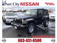 2015 Jeep Wrangler Sport 4WD 6-Speed Manual 3.6L V6 24V