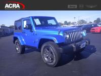 Used 2015 Jeep Wrangler, stk # 171766, key features