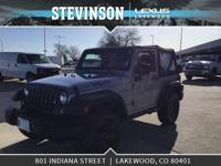 Stevinson Lexus is offfering this. 2015 Jeep Wrangler