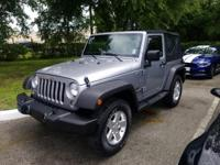 This 2015 Jeep Wrangler 4WD 2dr Sport is offered to you