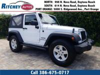LOW MILEAGE 2015 JEEP WRANGLER SPORT 4WD**CLEAN CAR