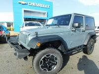 4WD!, PRICED RIGHT!, HARDTOP!, Wrangler Sport, 4WD.