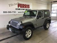 Options:  2015 Jeep Wrangler Sport|**Four-Wheel