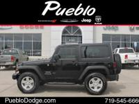 CARFAX 1 OWNER. Wrangler Sport and 2D Sport Utility.