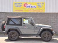 2015 Jeep Wrangler Sport  in Anvil Clearcoat, Hands