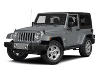 Jeep Wrangler Sport 2015 Certified. Certification