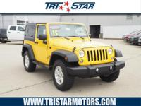 Don't miss out on this 2015 Jeep Wrangler Sport! It