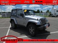 Clean AutoCheck, One Owner**, Wrangler Sport, 2D Sport