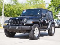 CARFAX One-Owner. 2015 Jeep Wrangler Sport Black