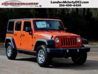Climb inside the 2015 Jeep Wrangler Unlimited! This SUV