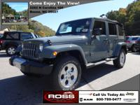 The 2015 Jeep Wrangler offers more options and features