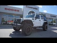 This 2015 Jeep Wrangler Unlimited is complete with