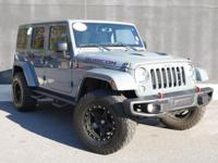 **2015 JEEP WRANGLER UNLIMITED RUBICON!!**VERY VERY LOW